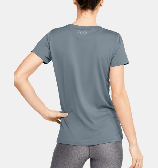 Womens UA Tech™ Branded Short Sleeve Crew