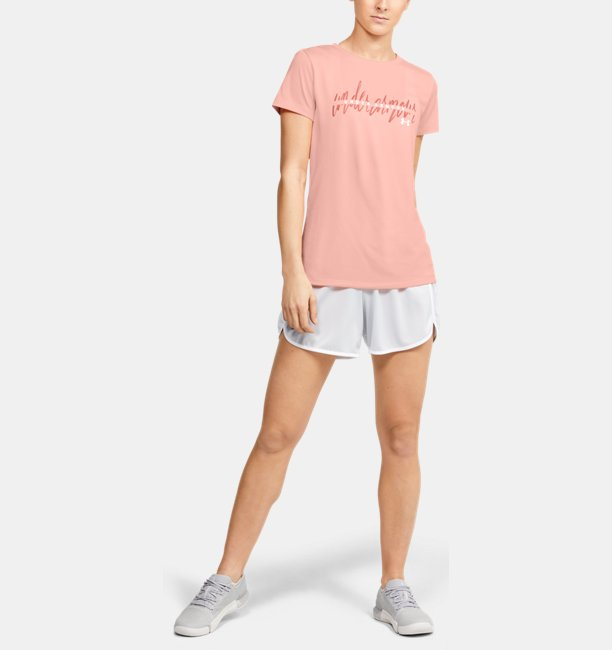 Womens UA Tech™ Branded Fit Kit Short Sleeve Crew