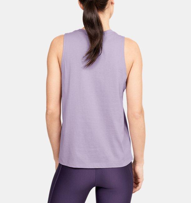 Womens UA WHM Graphic Muscle Tank