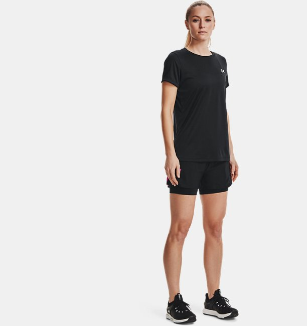 Womens UA Play Up 2-in-1 Shorts