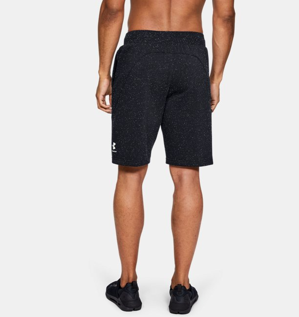 Mens UA Speckled Fleece Shorts
