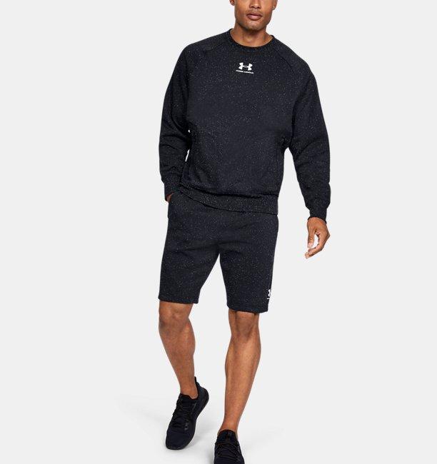 Mens UA Speckled Fleece Shorts