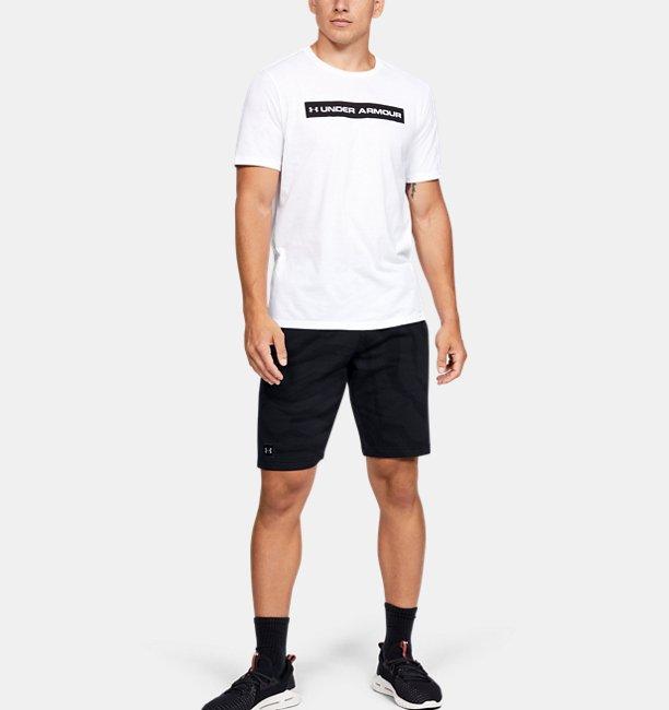 Shorts UA Speckled Fleece Printed para Hombre