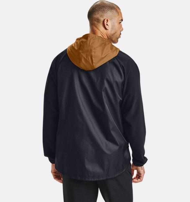 Herren UA Jacke aus Stretchgewebe mit durchgehendem Zip
