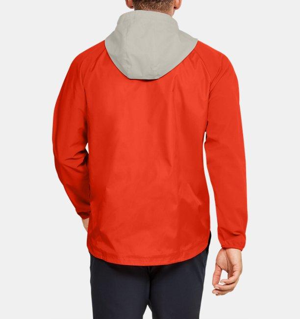 Mens UA Stretch Woven Full Zip Jacket