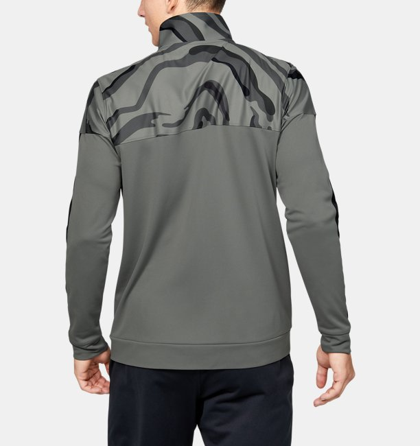 Mens UA Sportstyle Pique Track Printed Jacket