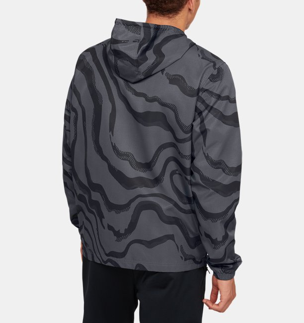 Mens UA Sportstyle Wind Printed Jacket