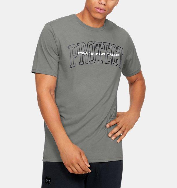 Mens UA Protect Bold Short Sleeve