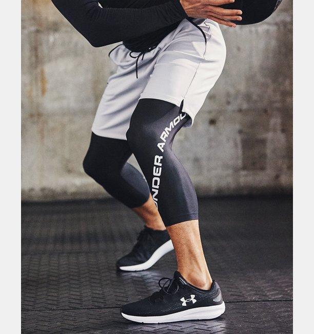 Mens HeatGear® Armour Graphic ¾ Leggings