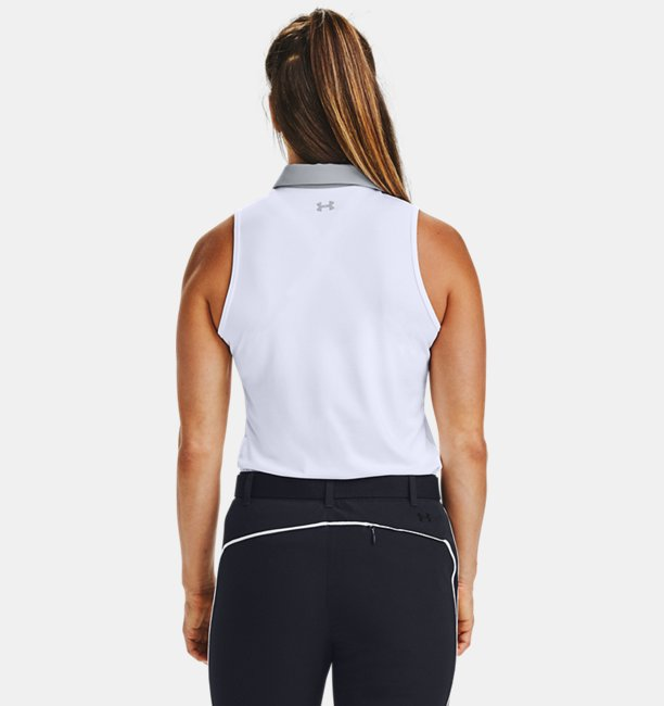 Womens UA Zinger Sleeveless Polo