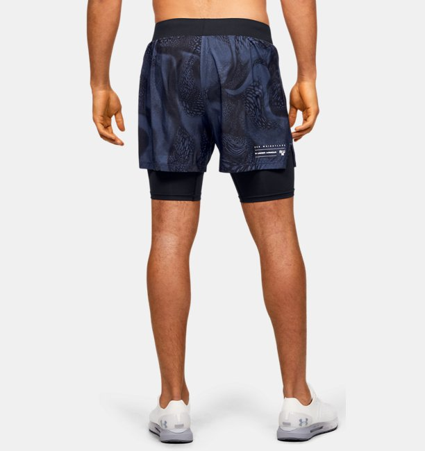 Shorts UA Speedpocket Weightless 2-in-1 para Hombre