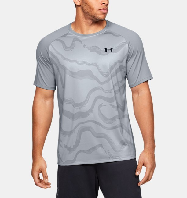Mens UA Tech™ 2.0 Morph FS Print Short Sleeve