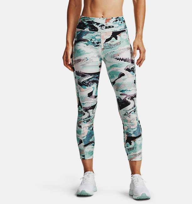 Womens HeatGear® Armour Printed Ankle Crop