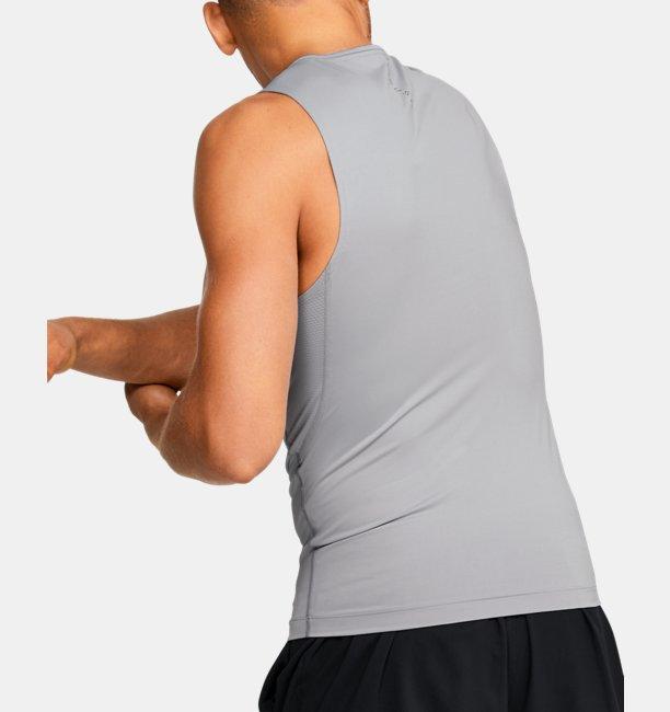 UAヒートギアアーマー ラッシュ コンプレッション スリーブレス(トレーニング/MEN)