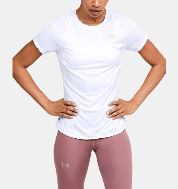 Womens UA Qualifier Iso-Chill Short Sleeve