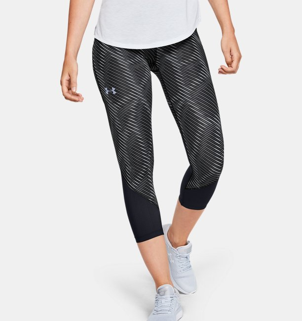 Womens UA Fly Fast Printed Crop