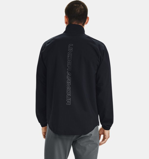 Mens UA Summer Woven Full Zip