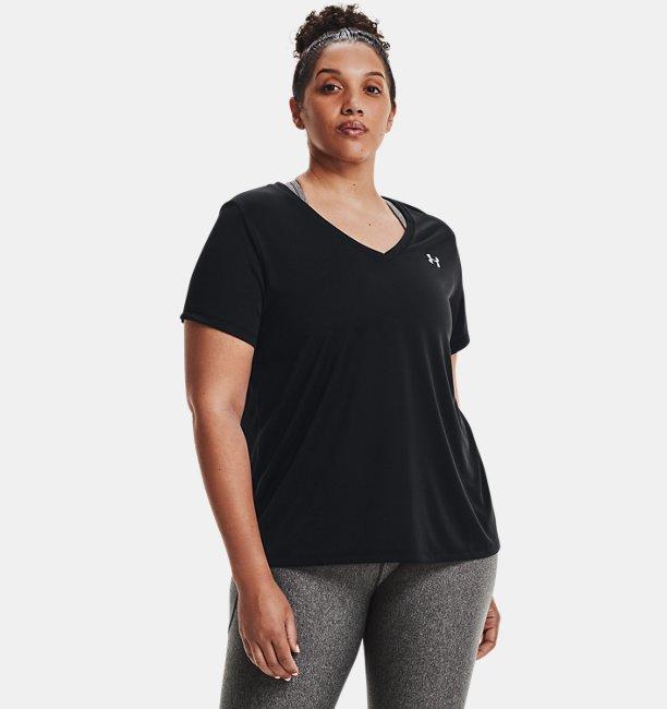 Womens UA Tech™ Short Sleeve V-Neck