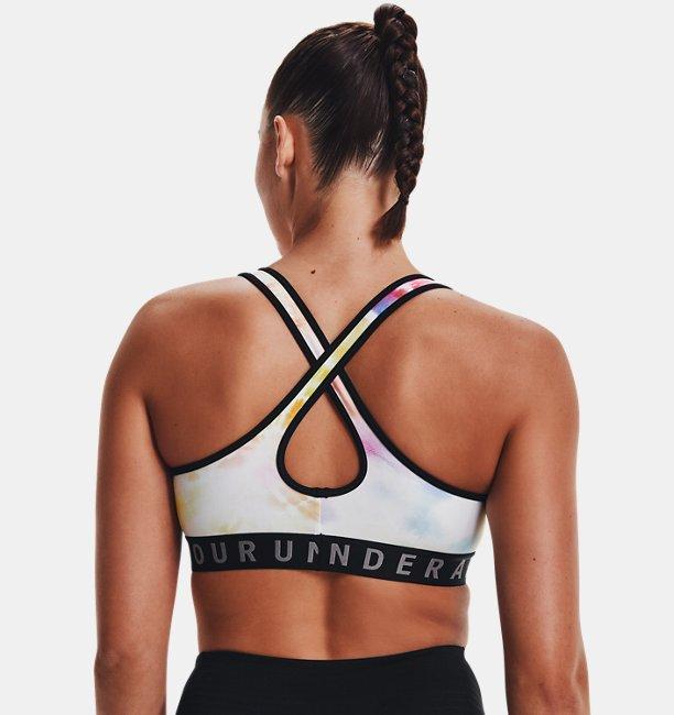 Womens UA Pride Armour Mid Crossback Sports Bra