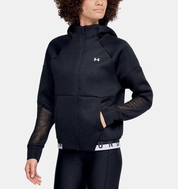 Womens UA /MOVE Mesh Inset Full Zip