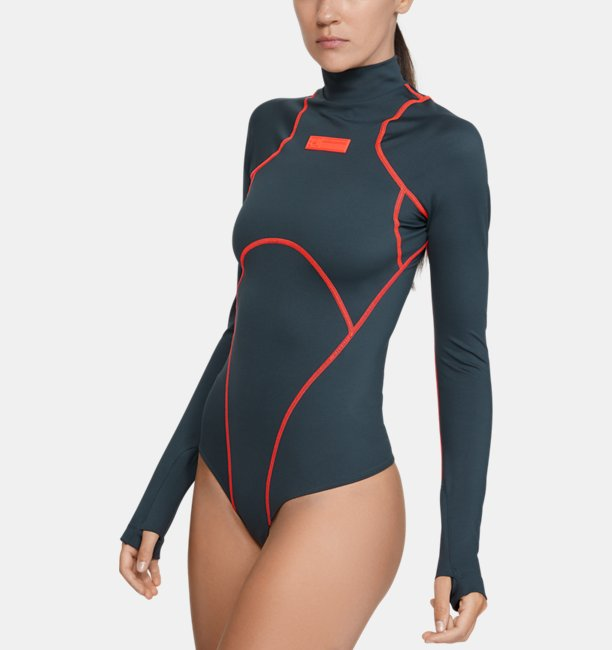 Womens UA Trek Armour Bodysuit