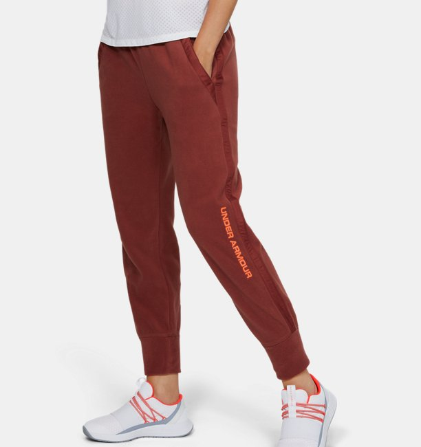 Womens UA Trek Polar Fleece Trousers