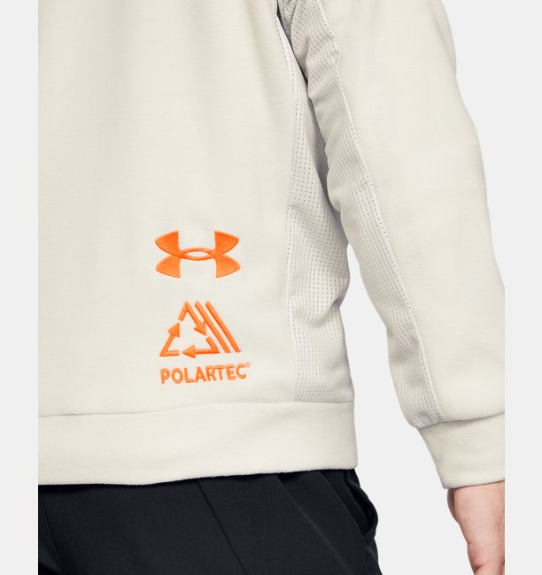 Mens UA Trek Polar Fleece Crew