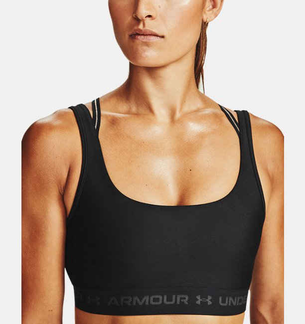 Womens Armour® Mid Crossback 2W Sports Bra