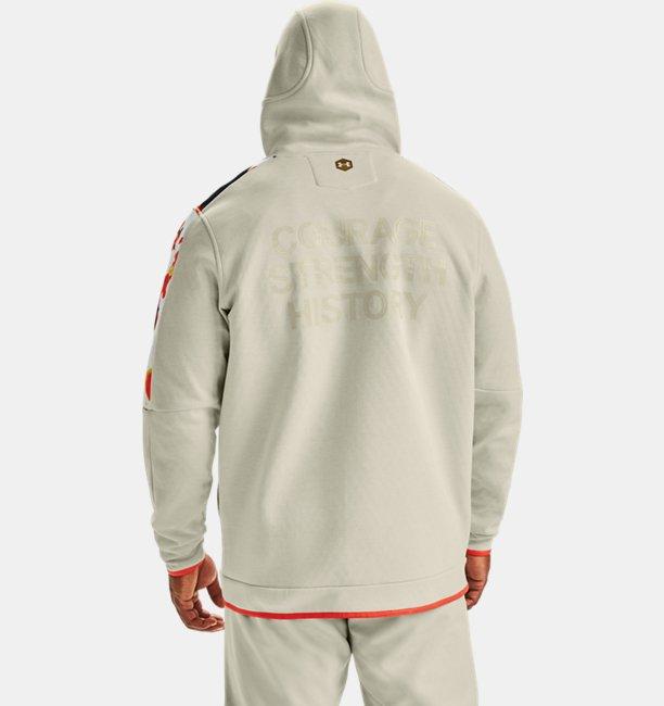 Mens UA RECOVER™ Fleece Upstream Camo Full Zip
