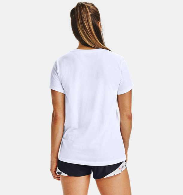 Camiseta de Treino Feminina Under Armour Sportstyle Upstream Camo Graphic