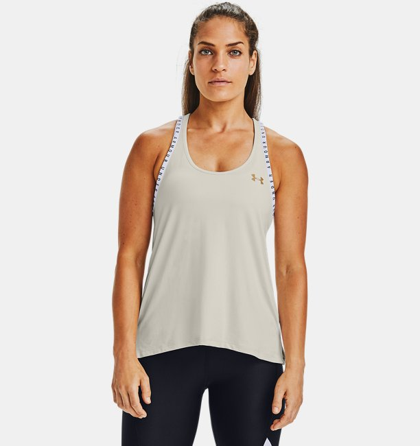 Womens UA Knockout Upstream Camo Tank
