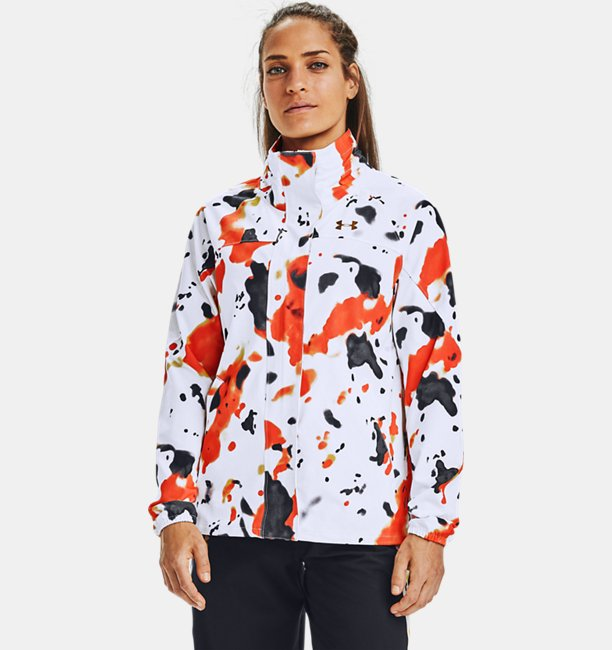 Womens UA RECOVER™ Woven Upstream Camo Jacket
