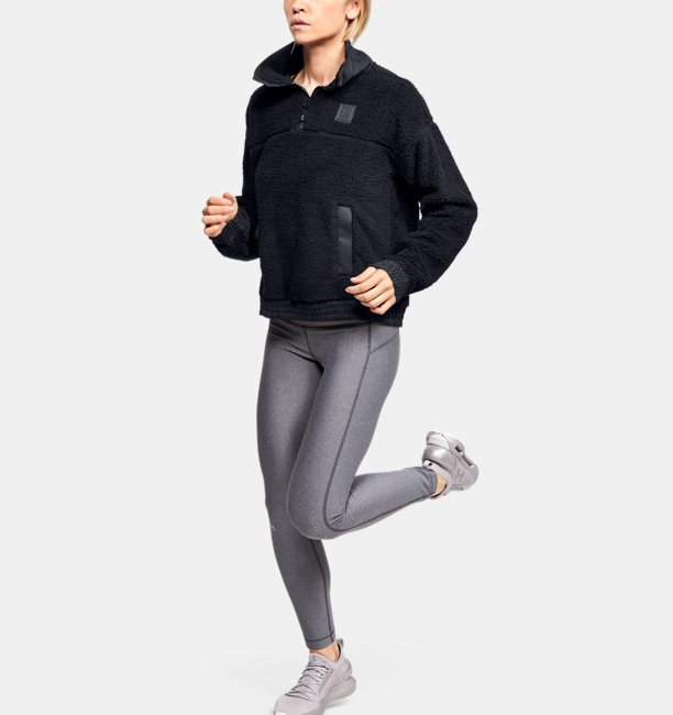 Womens UA Trek Sherpa ¼ Zip