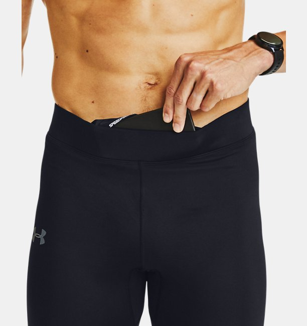 Mens UA Qualifier Speedpocket HeatGear® Graphic Tight