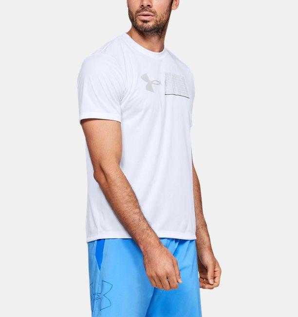 남성 UA 런 그래픽 이스케이프 티셔츠