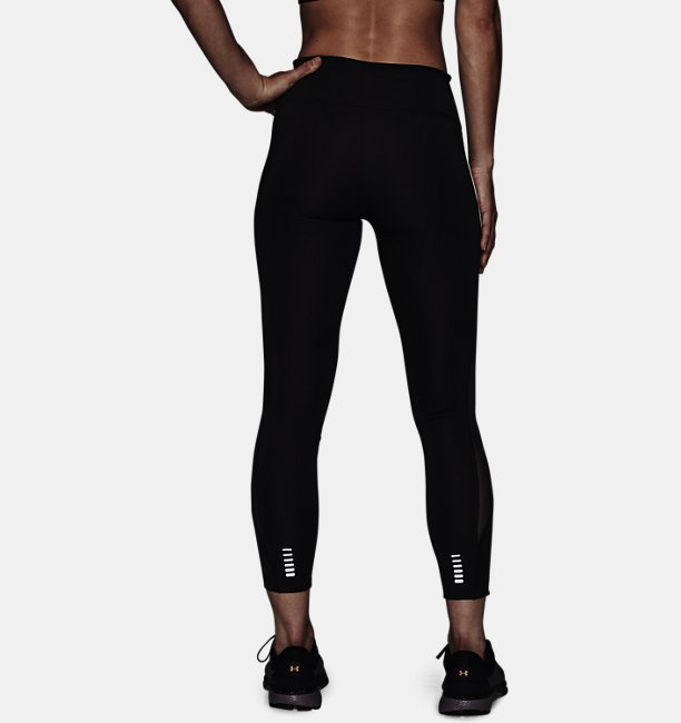 Womens UA Qualifier Speedpocket Graphic Crop