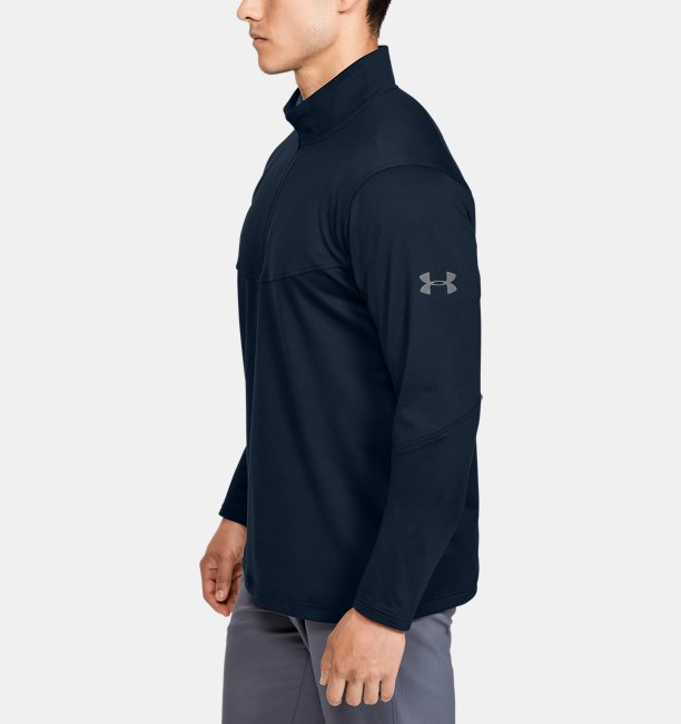 Mens UA Crestable Midlayer ½ Zip