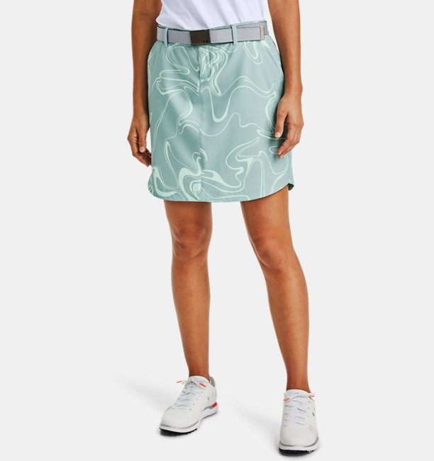 Womens UA Links Woven Printed Skort