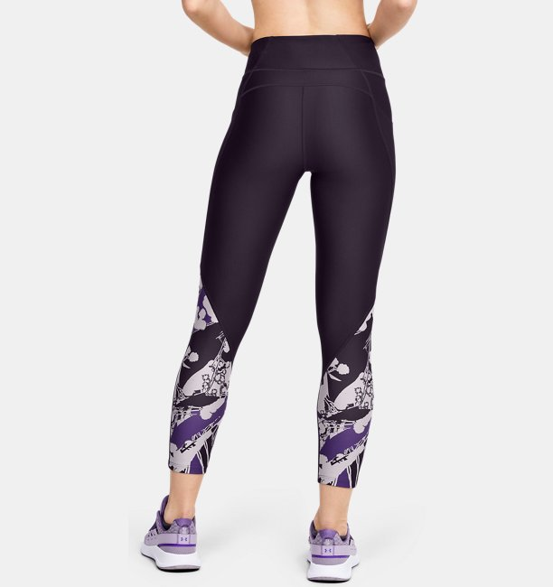 Womens UA WHM HeatGear® Armour Printed Ankle Crop