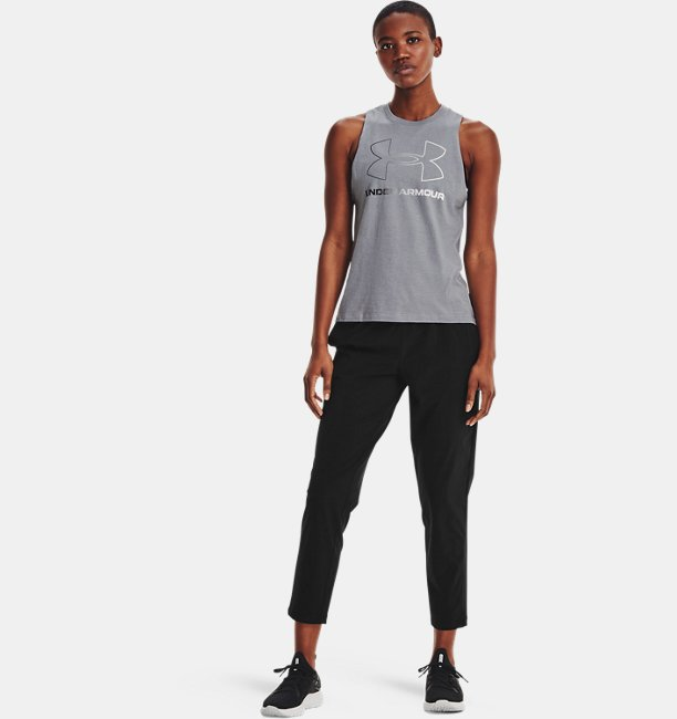 Womens UA Stretch Woven Crop