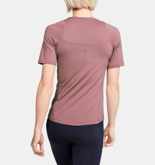 Womens UA RUSH Short Sleeve