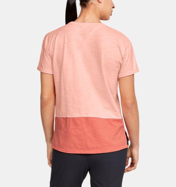 Damen Kurzarm-Oberteil aus Charged Cotton®