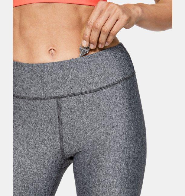 Womens HeatGear® Armour Graphic Swerve Wordmark Leggings