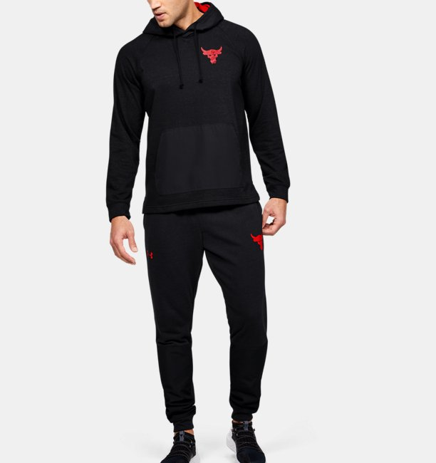 Mens Project Rock Terry Hoodie