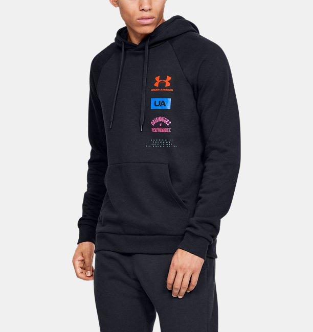 Herenhoodie UA Rival Fleece Originators