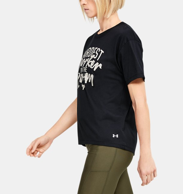 Womens Project Rock Customize Short Sleeve