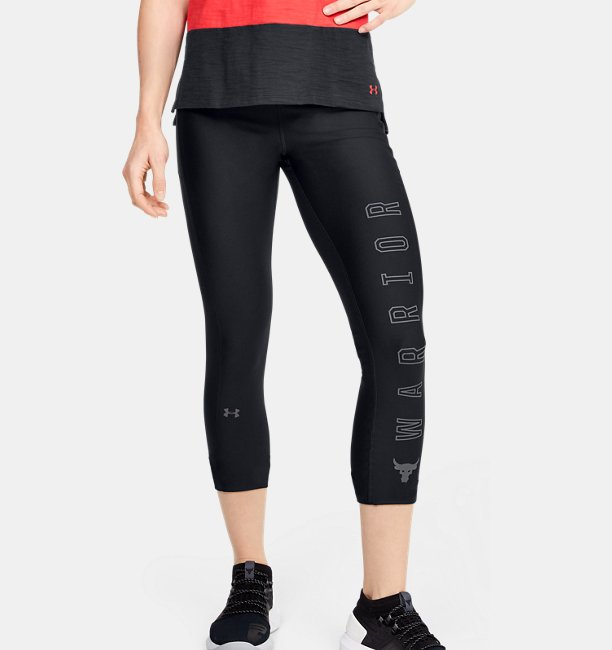 Womens Project Rock HeatGear® Armour Warrior Ankle Crop