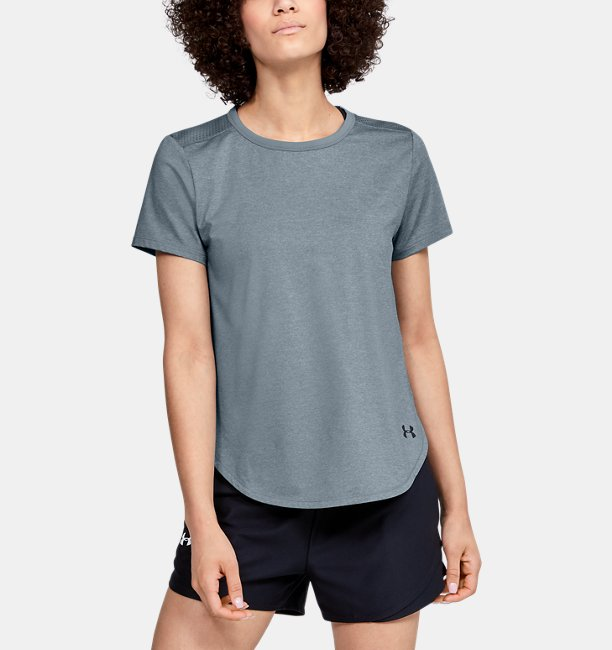Womens UA Armour Sport Crossback Short Sleeve