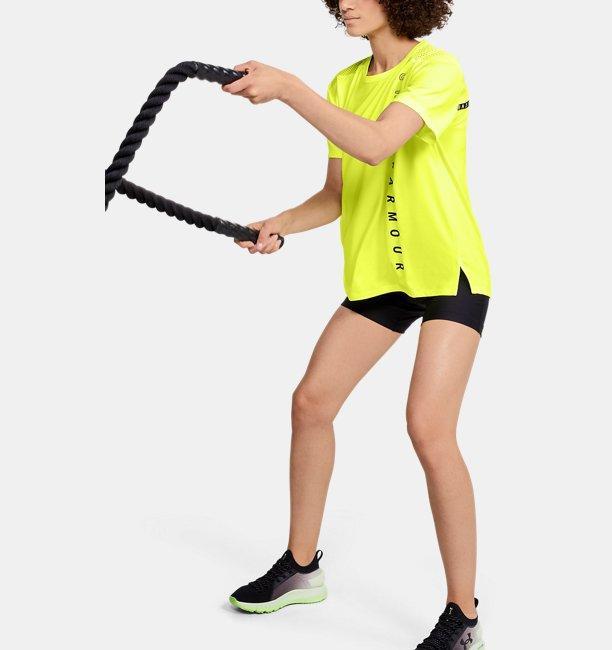 Womens UA Armour Sport Oversized Short Sleeve