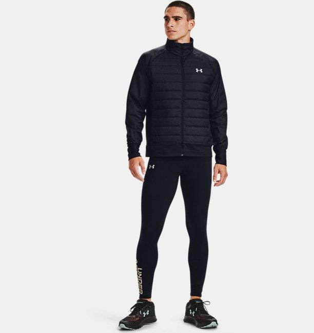 Mens UA Run Insulate Hybrid Jacket